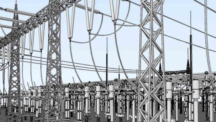 3d autocad substation design software Primtech