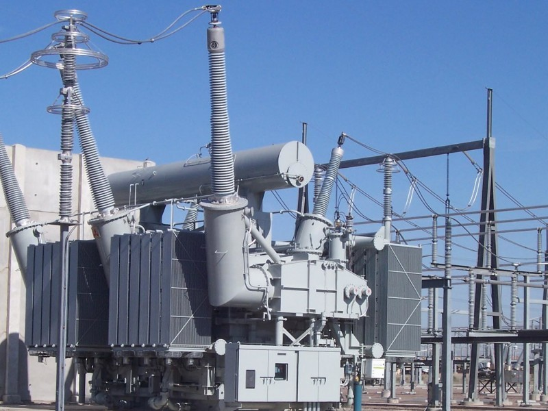 electric substation power transformer