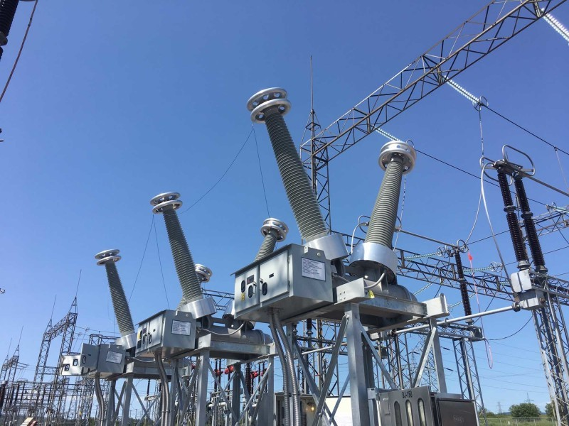 High voltage substation equipment